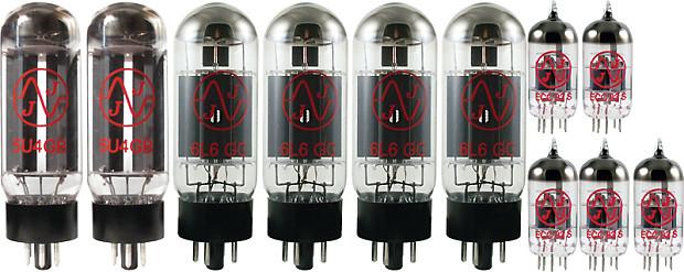 tube complement for bugera trirec jj brand reverb. Black Bedroom Furniture Sets. Home Design Ideas