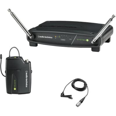 Audio-Technica ATW-901a/L System 9 Wireless Lavalier Microphone System