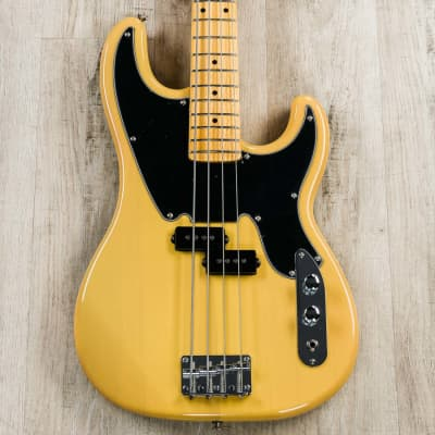 Tagima TW-66 4-String Bass Guitar, Maple Neck and Fretboard, Butterscotch for sale