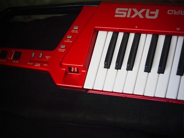 roland axis 1 vintage keytar midi controller synth keyboard reverb. Black Bedroom Furniture Sets. Home Design Ideas