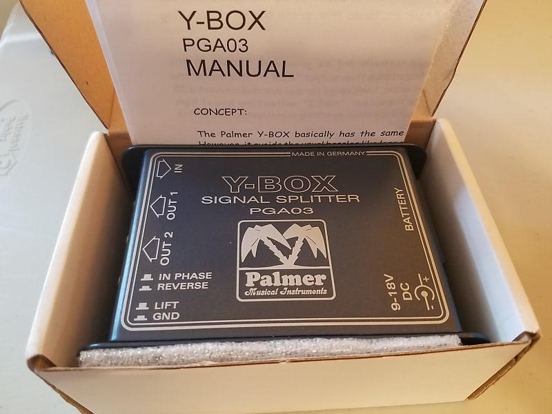 Palmer Audio Tools PGA03 Y-Box Isolated Guitar Splitter