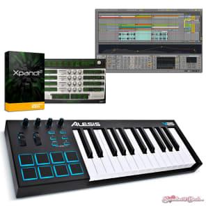 Alesis V25 25-Key USB MIDI Keyboard & Drum Pad Controller + Ableton Lite XPAND!2