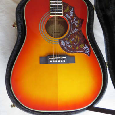 Epiphone Hummingbird pro cherry burst 2014 for sale