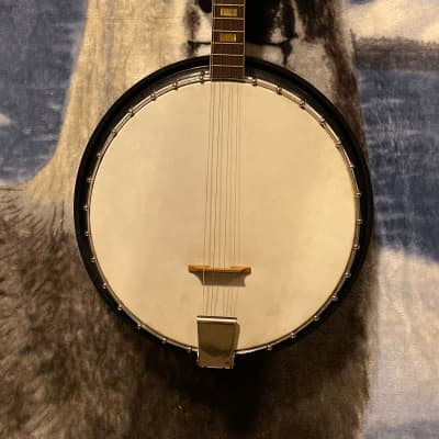 Harmony Roy Smeck 60's Black Banjo for sale