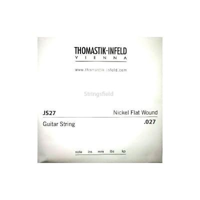 Thomastik Infeld JS27 Nickel Flatwound 027 Single String 027
