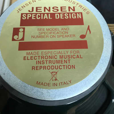 jensen special edition 2018 taken out of fender deluxe reverb not used