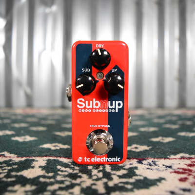 TC Electronic Sub 'N' Up Mini Octave Pedal