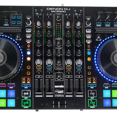 DENON MC7000 4-Channel Digital Mixer, Serato DJ Controller+Dual Audio Interface