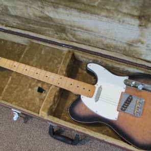 Brandoni Custom telecaster 70's/80's dark birdseye maple for sale