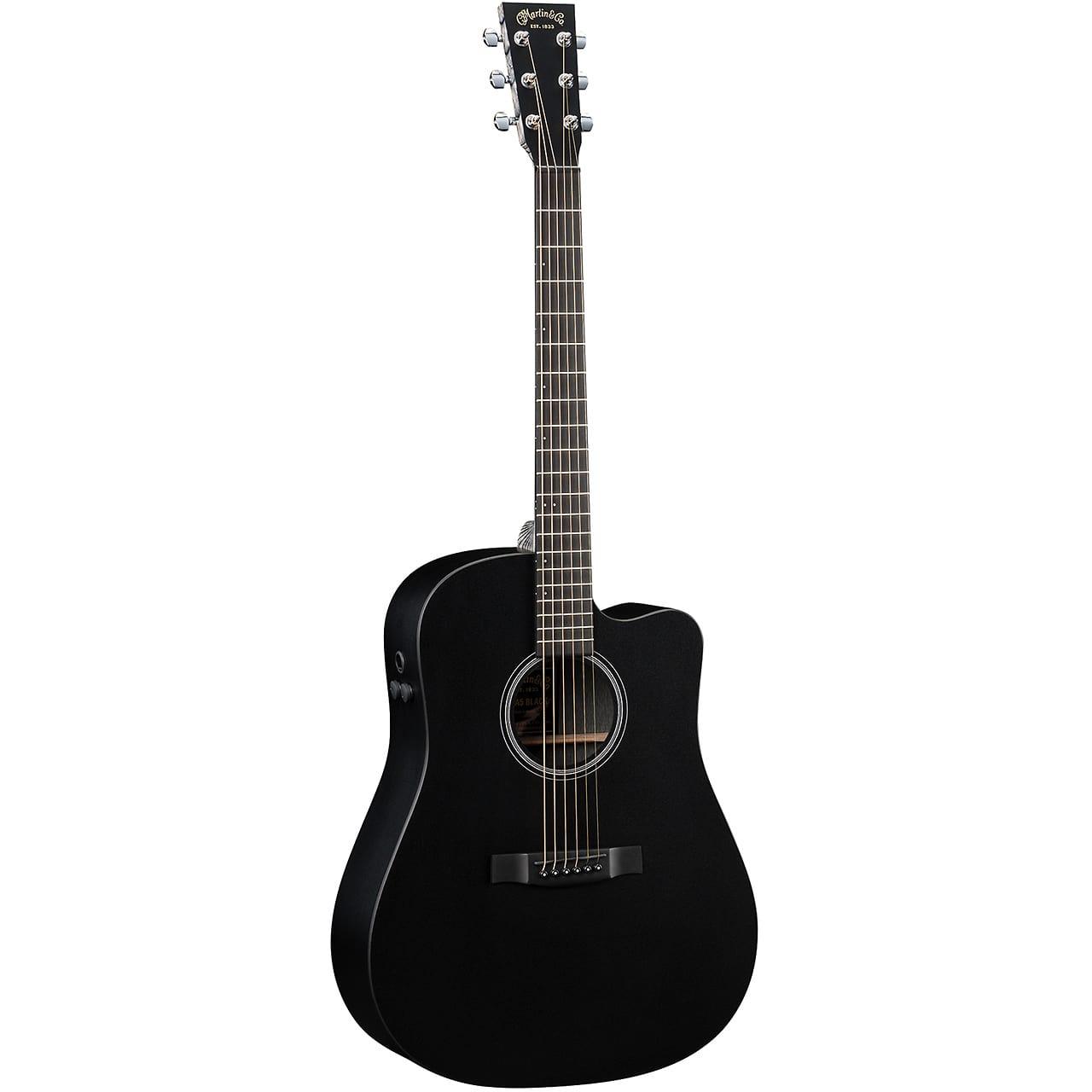 martin dcpa5 acoustic electric guitar black reverb. Black Bedroom Furniture Sets. Home Design Ideas