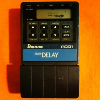 Ibanez PDD1 Programmable Digital Delay DCP series made in Japan