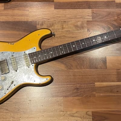 Nick Page So Cal Stratocaster 2020 Gold for sale