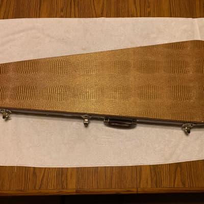 Douglas Stratocaster / Telecaster Hardshell Case 2010s Brown / Cheetah Print