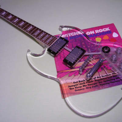 Dillion Crystal Series DG 61 - B.C. Rich Dan Armstrong SMG SG Lucite Acrylic Guitar Epiphone Gibson for sale