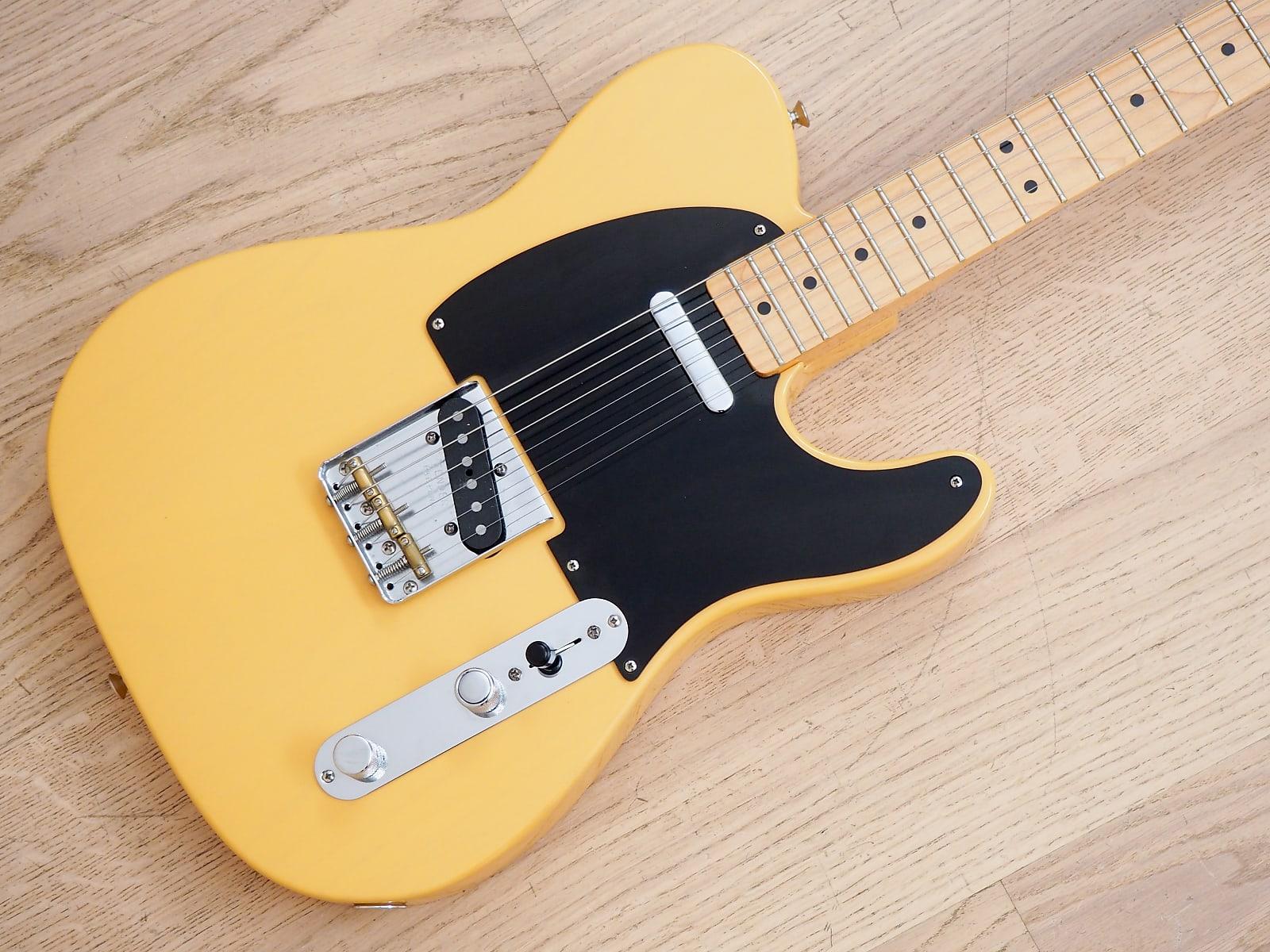 2008 Fender Classic Player Baja Telecaster '50s Vintage Reissue Electric Guitar Butterscotch w/ Bag