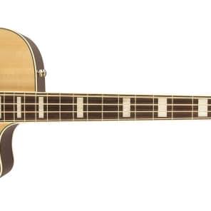 Fender Kingman Bass SCE Acoustic-Electric Bass Natural