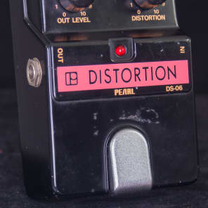 Pearl DS-06 Distortion s/n 601486 early 80's for sale