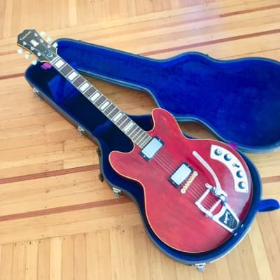 Epiphone Al Caiola standard c 1964 Cherry red original vintage usa gibson kalamazoo bigsby for sale