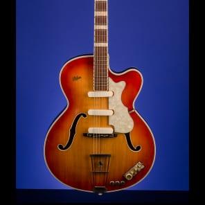 Hofner Model 457/E3 1959 Cherry sunburst for sale
