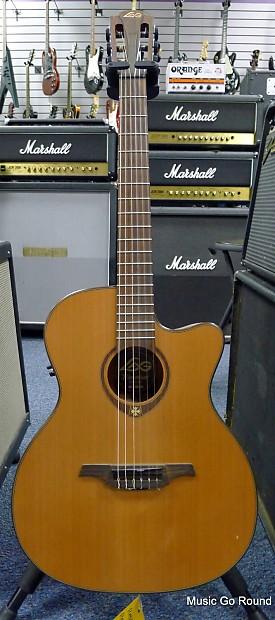 lag tremontane tn200 a14ce acoustic electric guitar reverb. Black Bedroom Furniture Sets. Home Design Ideas
