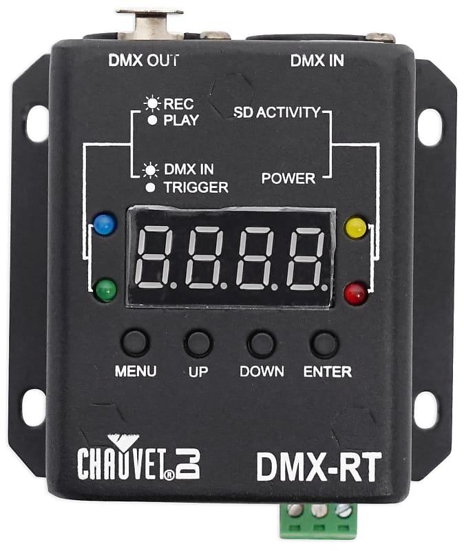 Chauvet Dj Dmx Rt Dmx Recording Device W Playback Micro Sd