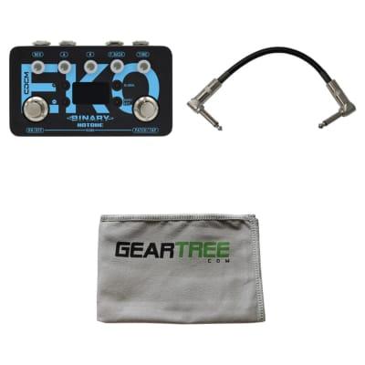 Hotone BDL-1 Binary Eko Pedal Binary Series Pedals w/ Cable and Polish Cloth