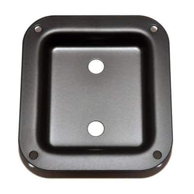 AH-9312-003 Black Metal Dish Speaker Cabinet Jackplate for sale