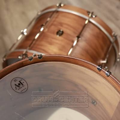 A&F 3pc Walnut Club Drum Set 24/18/13