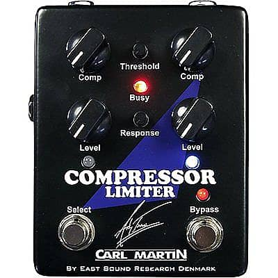 Carl Martin Andy Timmons Compressor Limiter Guitar Effects Stompbox Pedal (STORE DEMO UNIT)