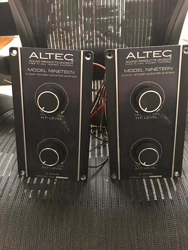 Altec lansing Model 19 70s ? 80s? | jesse's Boutique