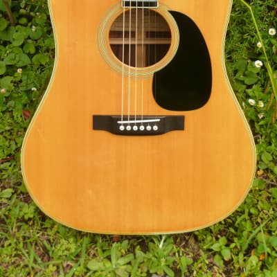 Tokai Cat's Eyes CE400 D28 style 1979 Natural+Hard Case FREE for sale