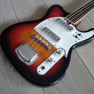 Jedson Tele Bass Picolo early 70s Sunburst for sale