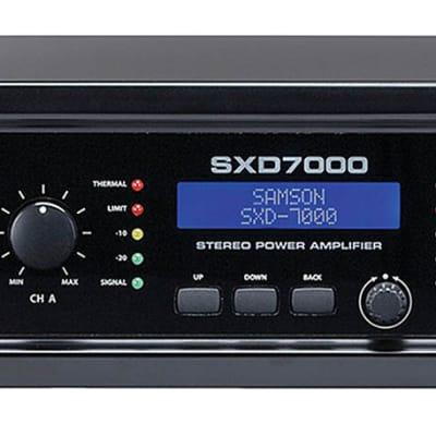 Samson Audio SXD7000 Power Amplifier with DSP - 140089