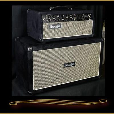 Mesa Boogie Custom Mark Five:35 Head and Matching 2x12 Cabinet Black Velvet
