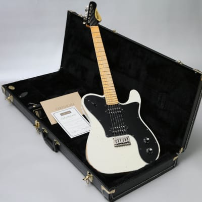 2016 Friedman Vintage T Amvbh5t Vintage White Relic & Friedman Case & COA for sale