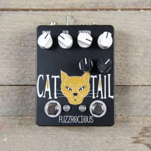 Fuzzrocious Cat Tail Distortion w/2nd Distortion Mod CME Exclusive Black/Orange MINT