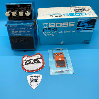 Boss PS-2 Digital Pitch Shifter Delay w/Original Box | Fast Shipping!