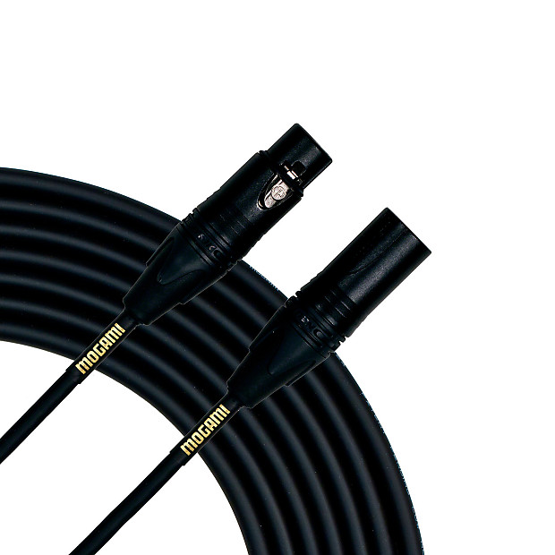 Mogami Gold STUDIO-15 XLR Microphone Cable XLR-Female to XLR-Male 3-Pin Gold