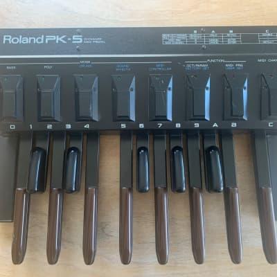 Roland PK-5 Dynamic MIDI Pedal Controller