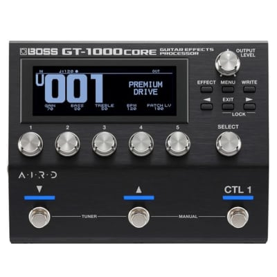 BOSS GT1000 CORE Multi Effects Pedal Guitar/Bass for sale
