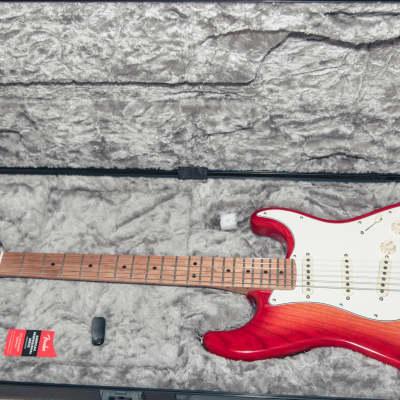 Fender American Professional Stratocaster Aged Cherry Burst