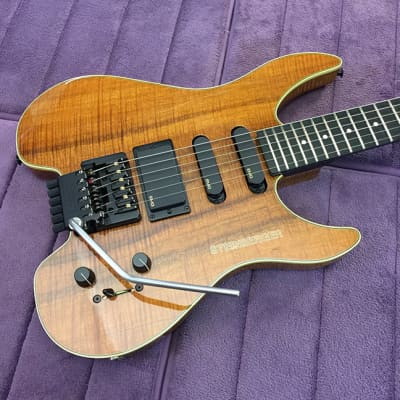 Rare USA-Built Steinberger Custom Shop GM4TA Koa - TransTrem - Babicz Restored! for sale