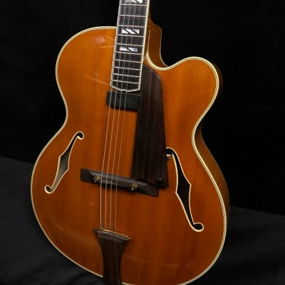 Megas Athena Blonde Archtop Electric Guitar for sale
