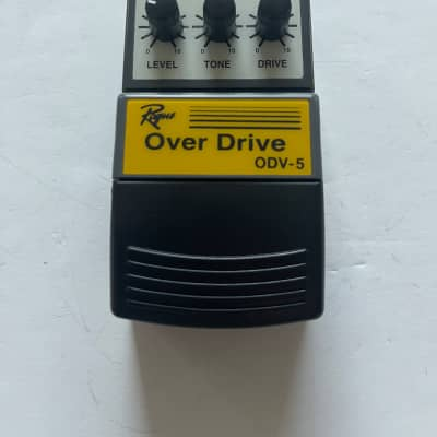 Rogue ODV-5 Analog Overdrive Distortion Rare Vintage Guitar Effect Pedal