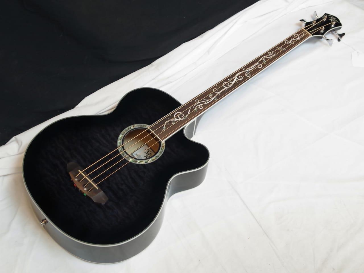 michael kelly dragonfly 4 string fretless acoustic bass reverb. Black Bedroom Furniture Sets. Home Design Ideas