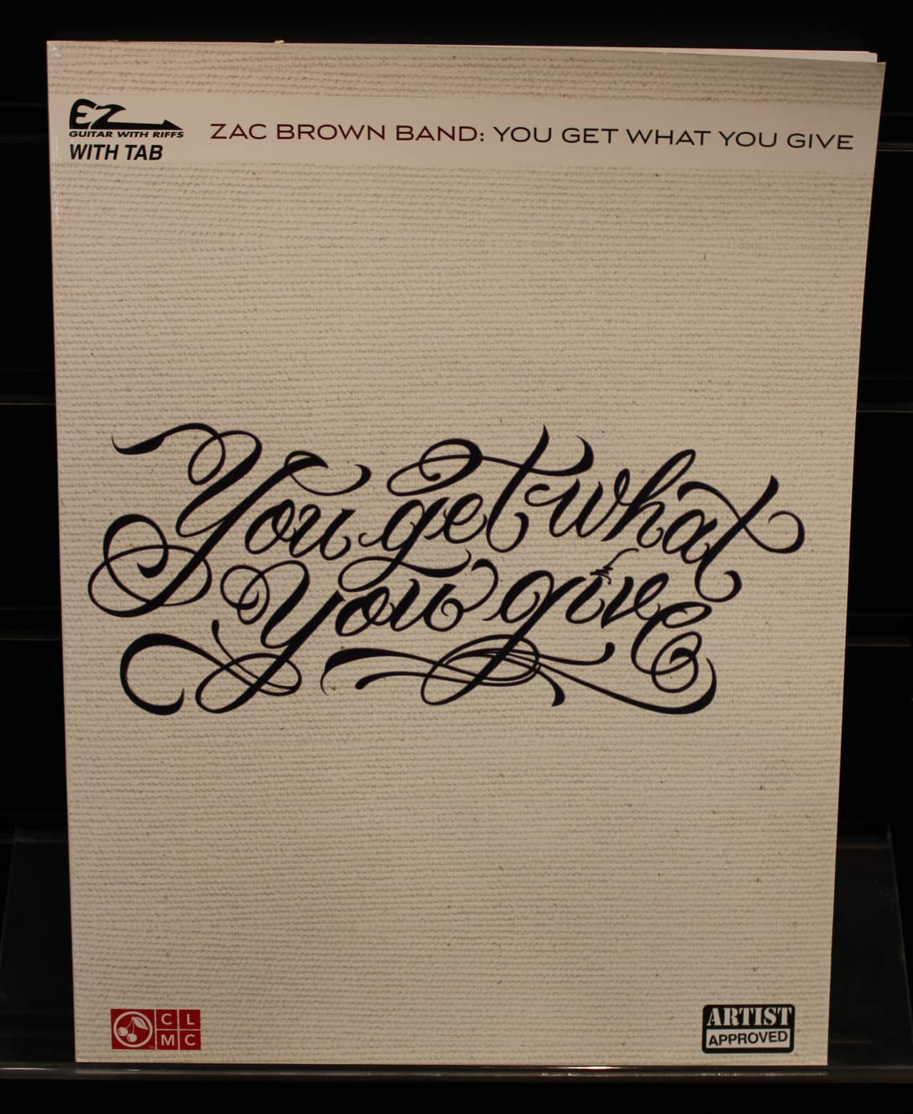 Zac Brown Band You Get What You Give Ez Guitar With Riffs Reverb