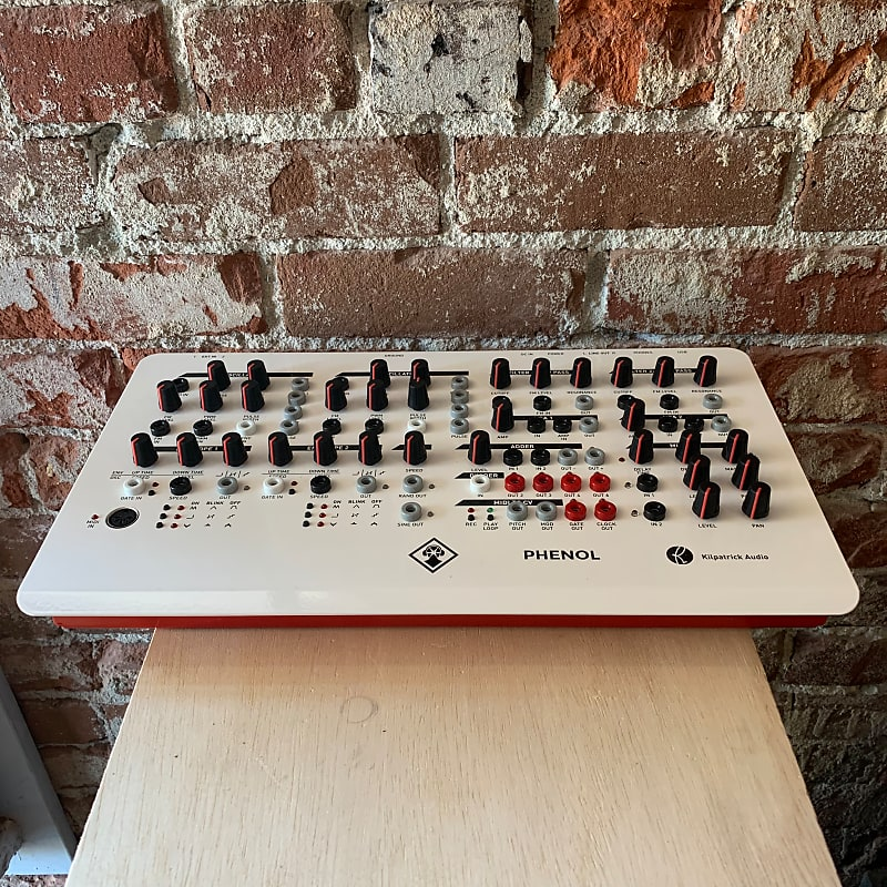 kilpatrick audio phenol desktop modular synth used reverb. Black Bedroom Furniture Sets. Home Design Ideas
