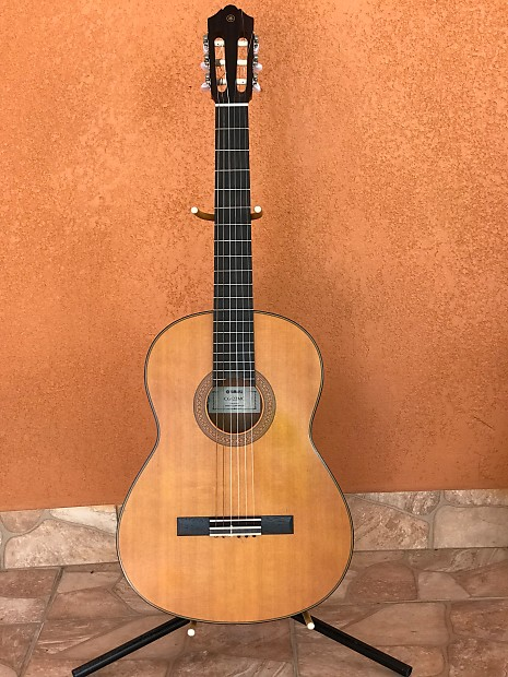 yamaha cg122mc classical guitar with pick up and new case reverb. Black Bedroom Furniture Sets. Home Design Ideas