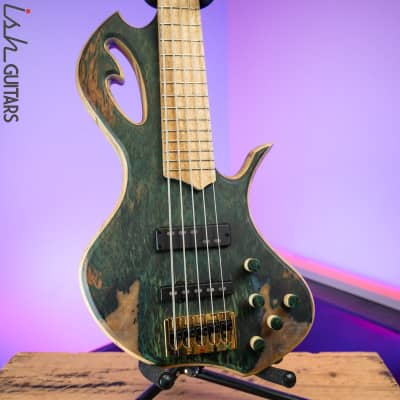 Divinity Oracle by Benavente Singlecut 5 String Bass Guitar for sale