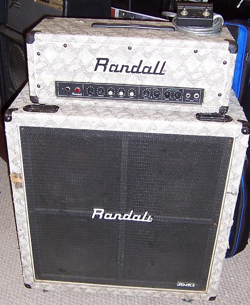Randall RG-80 ES & R 412 JB | AxeShop Inc. | Reverb